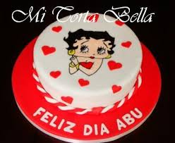 10 Hermosas tortas decoradas de Betty Boop (8)