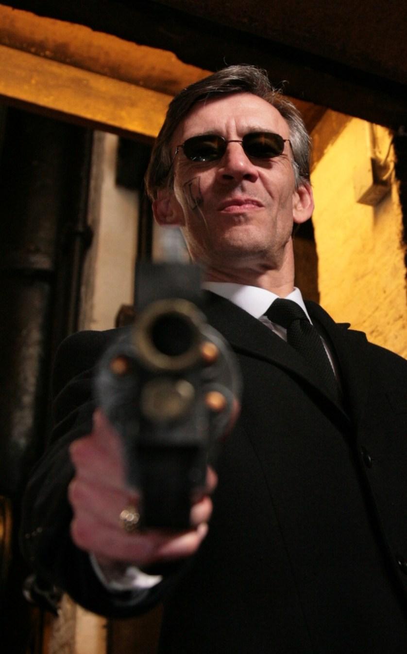 Actor Steve Kebell Dispenses Death