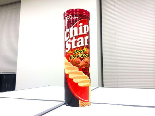 チップスターL ホットチリチキン味