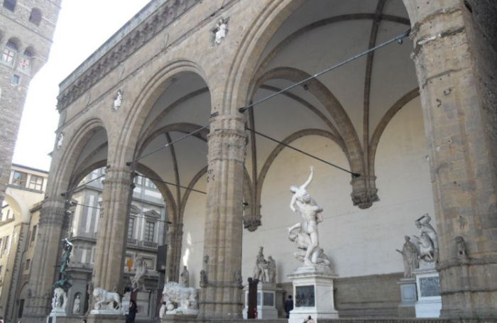 Loggia dei Lanzi in Florence