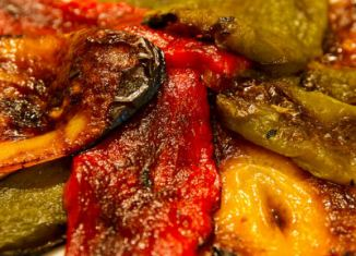 Gegrilde paprika - Peperoni alla griglia