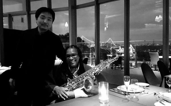 2015クリスマスにジャズスタンダードを演奏した時の画像です