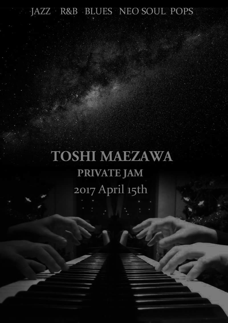 Toshi Maezawa Jazz piano Blues piano
