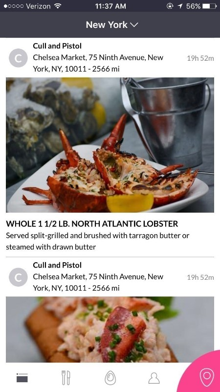 New And Improved Pearl App Expands; Adds Seafood To The Menu (PRNewsFoto/Pearl)