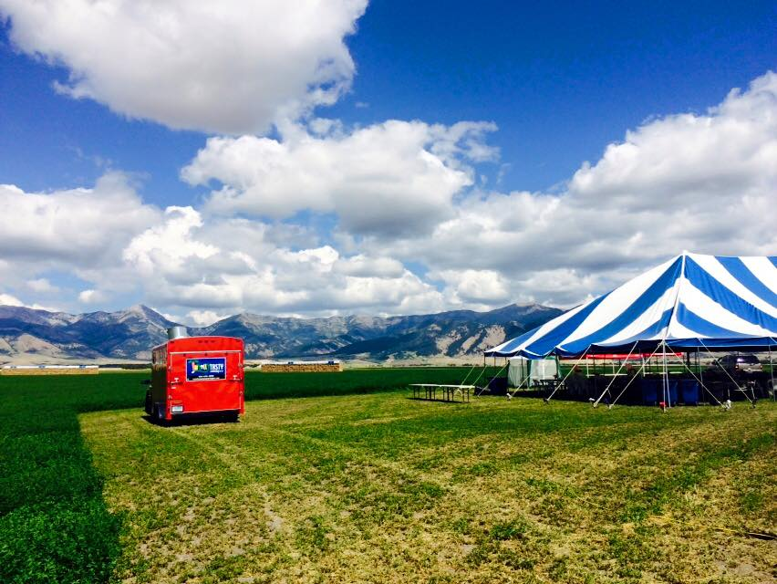 We Can Cater Anywhere in Montana, Indoors or Out!