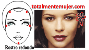 rostro redondo catherine zeta jones