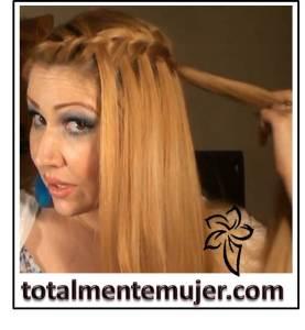 peinados facil de fiesta