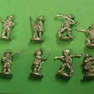 PS20 Dismounted Dragoon, skirmishing. (mixed pack)