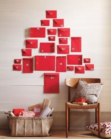 26 marthastewart.com advent calendar christmas tree adventny stromcek