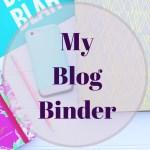 Blog Binder + Free Printable's!