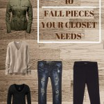 Fall Trends For Your Closet
