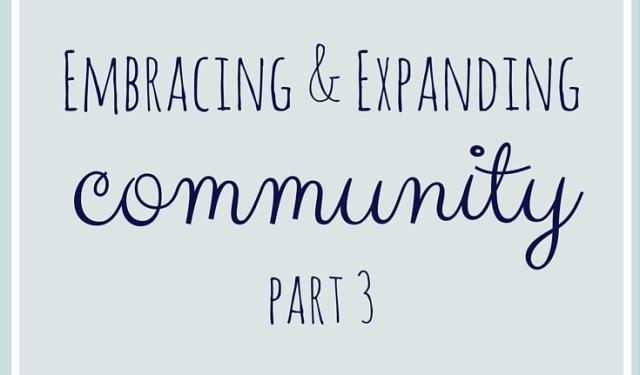 Community Part 3