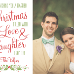 Our Married Christmas Card & Link-Up!