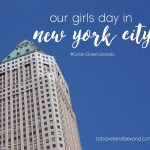 Blogger Girls Trip To New York City