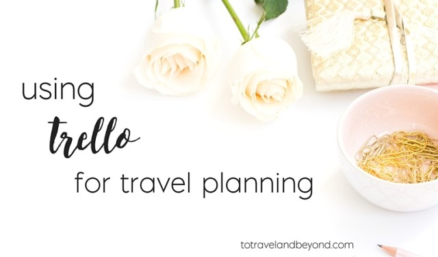 trello for travel