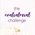The Contentment Challenge- Update 2