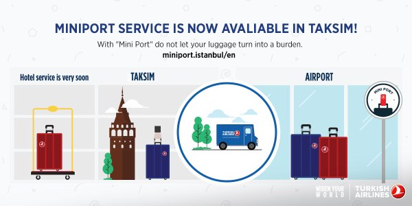 Miniport; A New Easy Check-in Service from Turkish Airlines