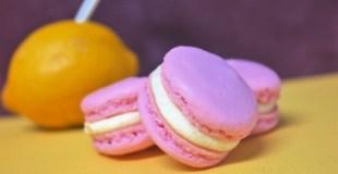 Raspberry Lemonade Macarons