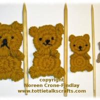 Rolly Polly Flat Teddy Bear