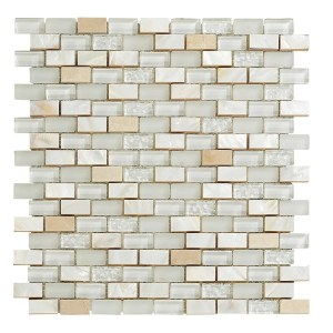 Synergy glass and stone mosaic tile mix DC0023