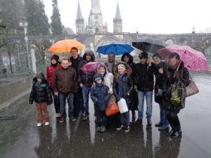 Pèlerinage à Lourdes 2015