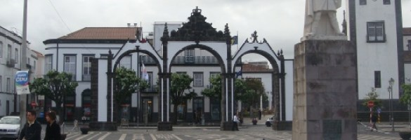 City gates of Ponta Delgada