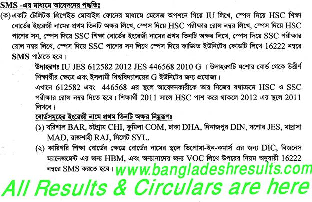 Islamic University (IU) Admission Test 2012-2013