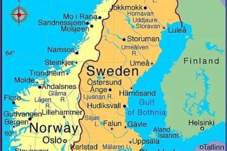 Map Of Sweden Universities - Sweden map universities