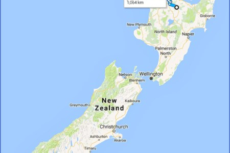 map directions new zealand