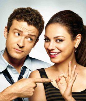 Lachen im Bett: Justin Timberlake und Mila Kunis in Freunde mit gewissen Vorzügen Foto: © Sony Pictures Television Inc.