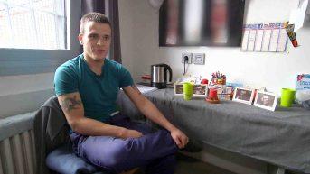 """Denis (23) muß seinen Geburtstag in Haft verbringen; """"Der Jugendknast"""" - zweite Staffel der Dokumentarreihe © RTL II"""