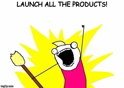 Launch All The Products