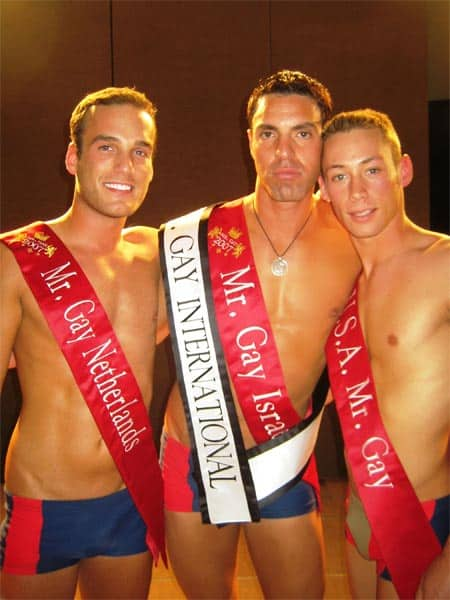 from Clayton mr gay international