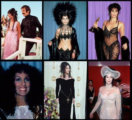Cher-at-oscars