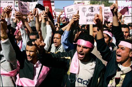 Yemen-Protests