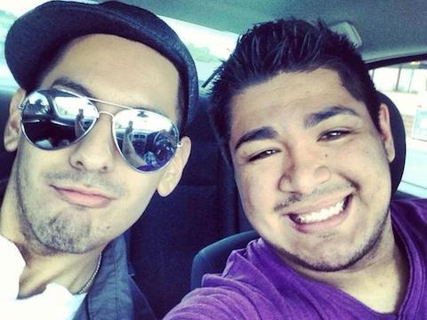 Pacheco and boyfriend