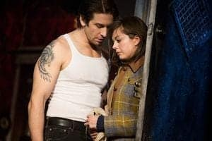 Andy Karl and Margo Seibert  in ROCKY photo by Matthew Murphy_2_10_14-305