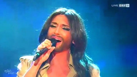 Conchita wurst believe live