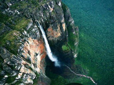 Angel Falls in Venezuela.