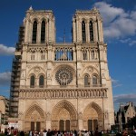 The Cathedral of Notre Dame in Paris, France