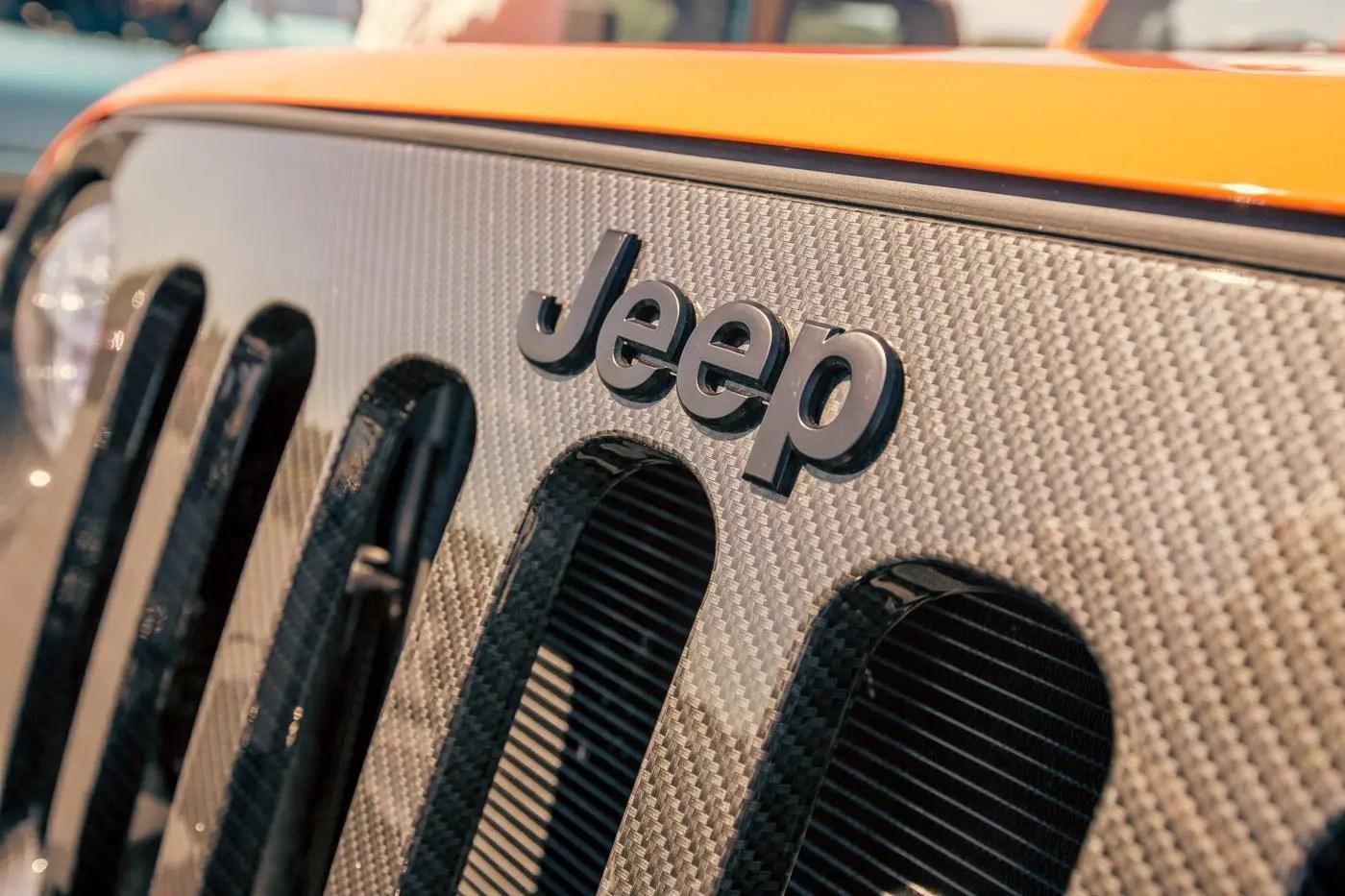 matte black jeep emblem