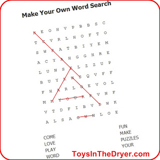 Make Your Own Word Search