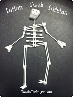 Cotton Swab Skeletons--Pinned it, Did it!