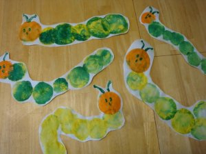 The Very Hungry Caterpillar, The Very Hungry Caterpillar Crafts, Moments of Mommyhood Blog