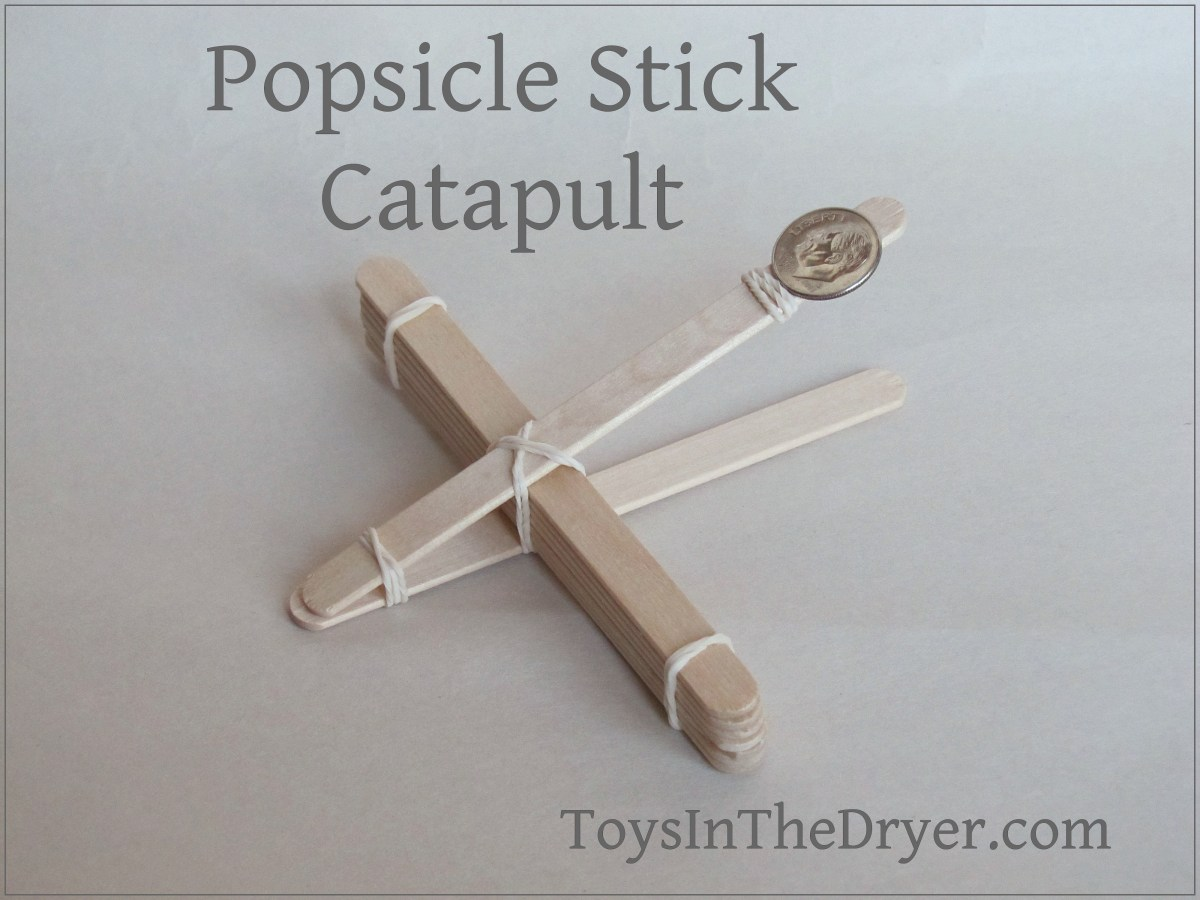 Easy Popsicle Stick Catapult