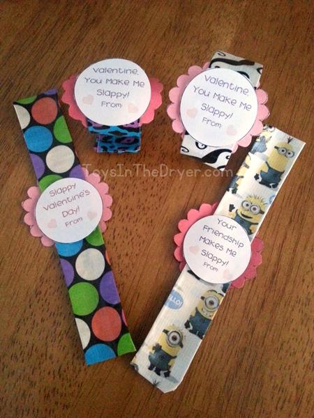 Valentine Bracelets Justin Toys : Slap bracelet valentines toys in the dryer