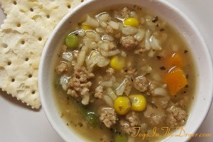 Incredibly Easy Vegetable Beef Soup