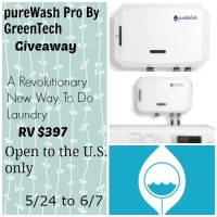 pureWash Pro by GreenTech Enviro Giveaway 6/7 US