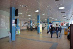 зал ожидания Тобольского Автовокзала