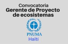 Gerente de Proyecto Enfoque de ecosistemas  – Haití